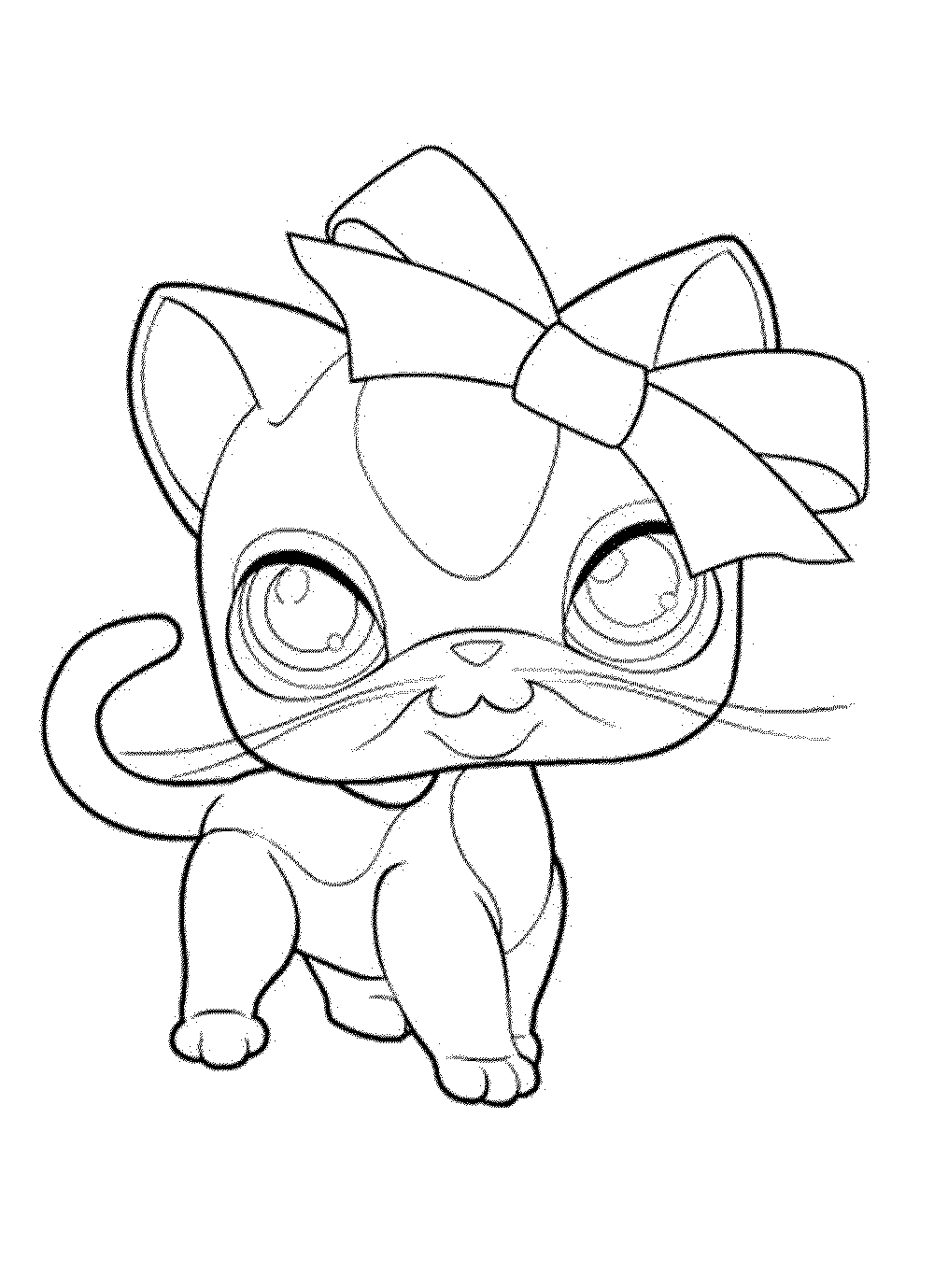 Coloring Pages Of Littlest Pet Shop