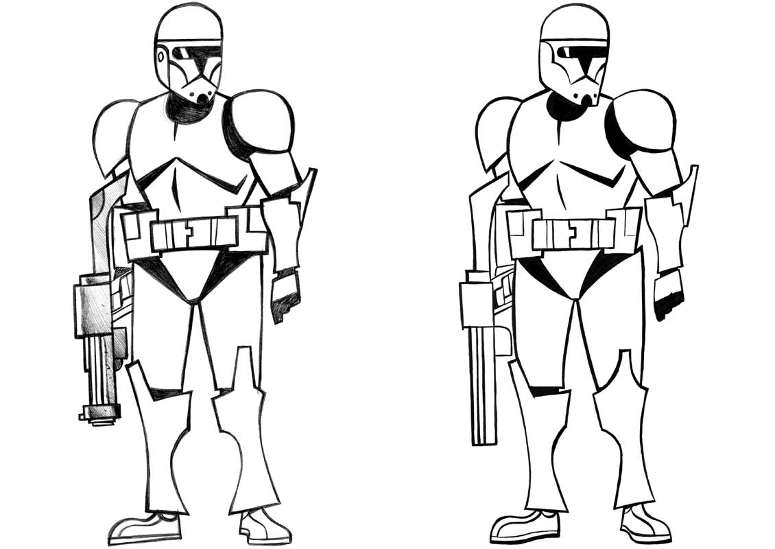 Clone Wars Coloring Pages (17 Pictures) - Colorine.net | 21358 ...