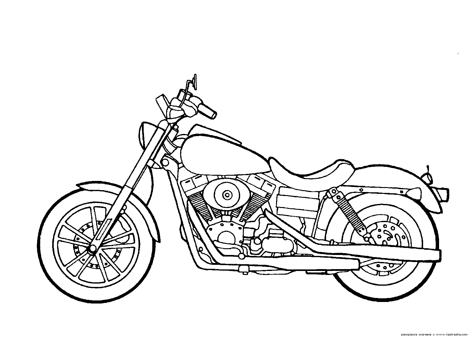 harley coloring pages - photo#14