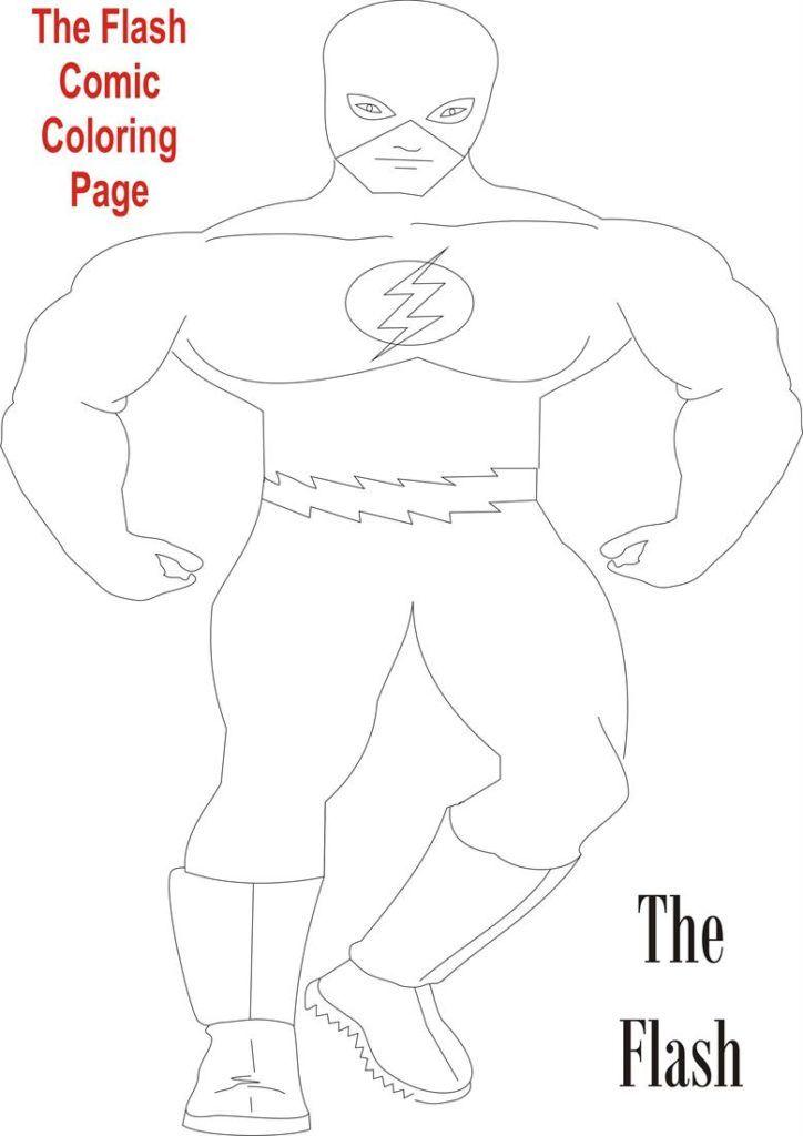 Free printable flash coloring pages az coloring pages for Flash gordon coloring pages