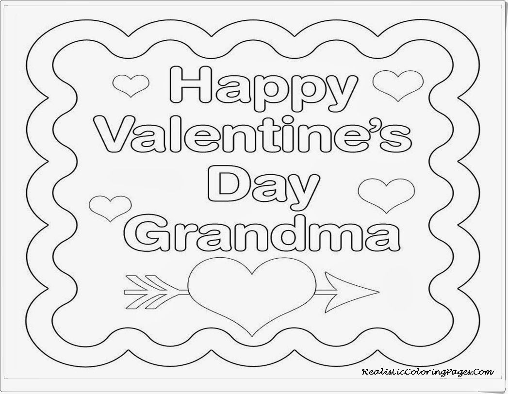 Coloring Pages For Valentines Cards - AZ Coloring Pages