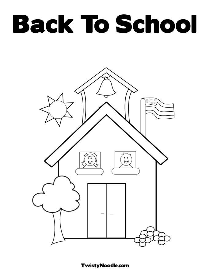 Printable cooperation coloring pages for kindergarten for Back to school coloring pages free printables