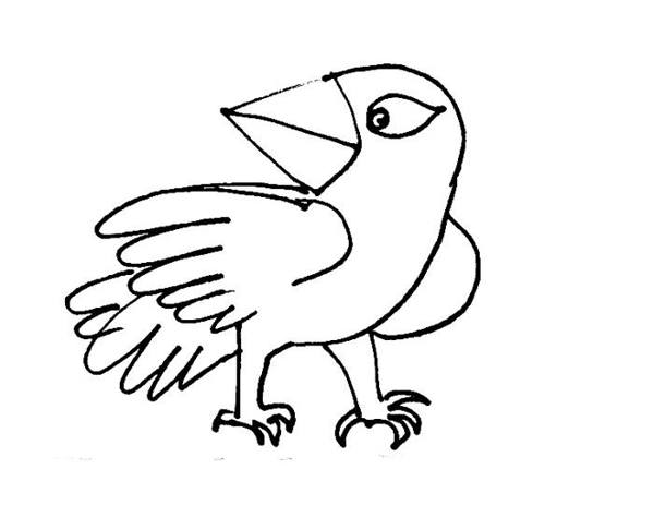 cartoon birds coloring pages - photo#10