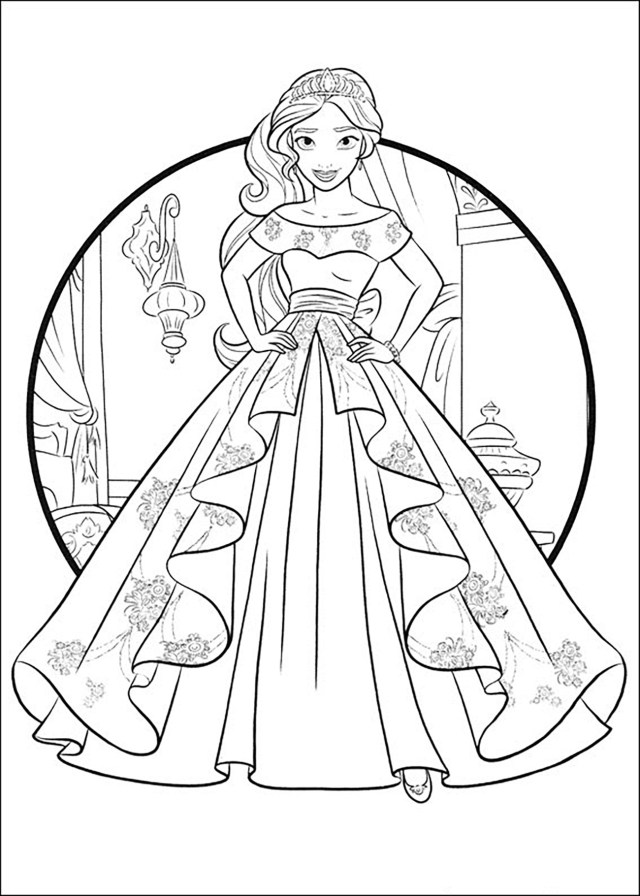 - 21+ Beautiful Picture Of Elena Of Avalor Coloring Pages - Coloring Home