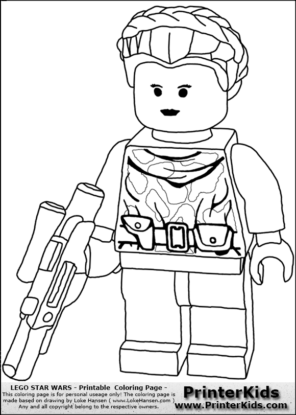 Lego Star Wars Pictures To Color - Coloring Home