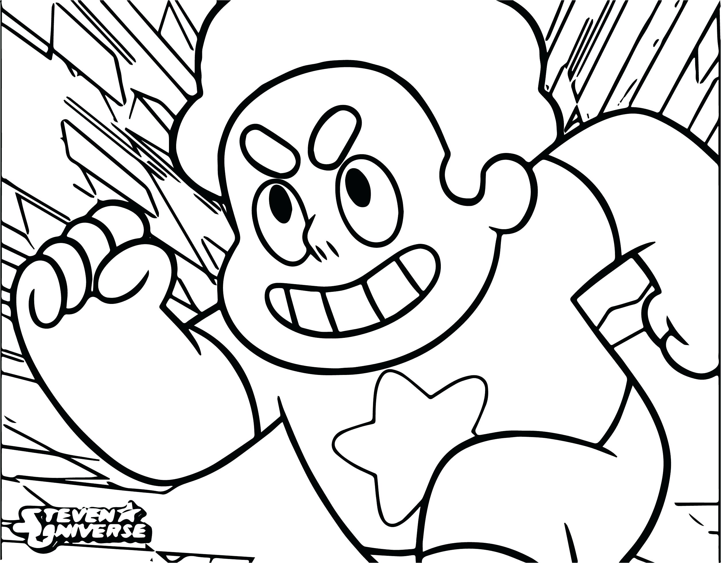 Coloring Picture : Universe Cartoon Network Page Steven ...