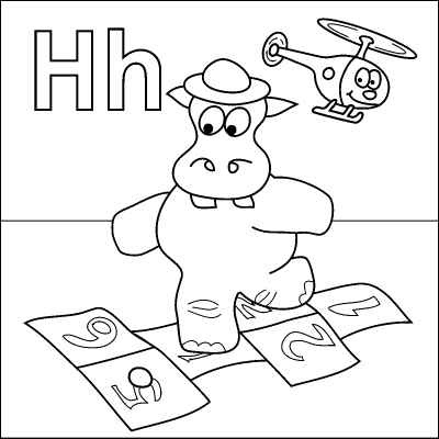 H is for halloween coloring pages ~ 1000+ Images About Letter H On Pinterest | Halloween ...