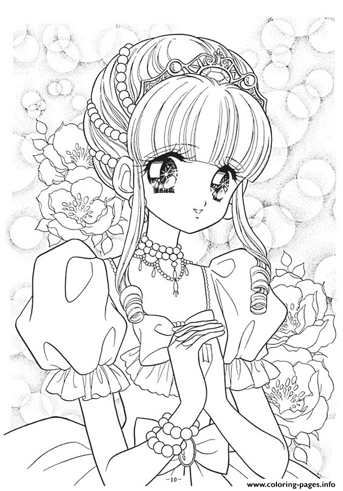 Glitter Force Coloring Pages Coloring Home