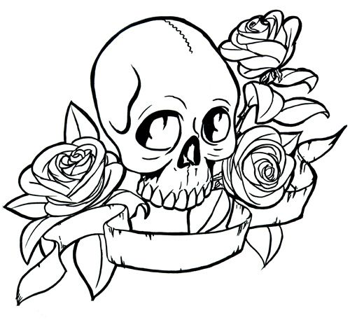 - Hearts And Roses Coloring Pages - Coloring Home