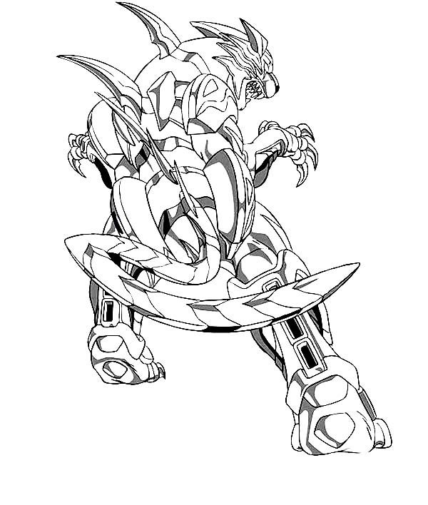 Bakugan New Vestroia Coloring Pages Coloring Pages