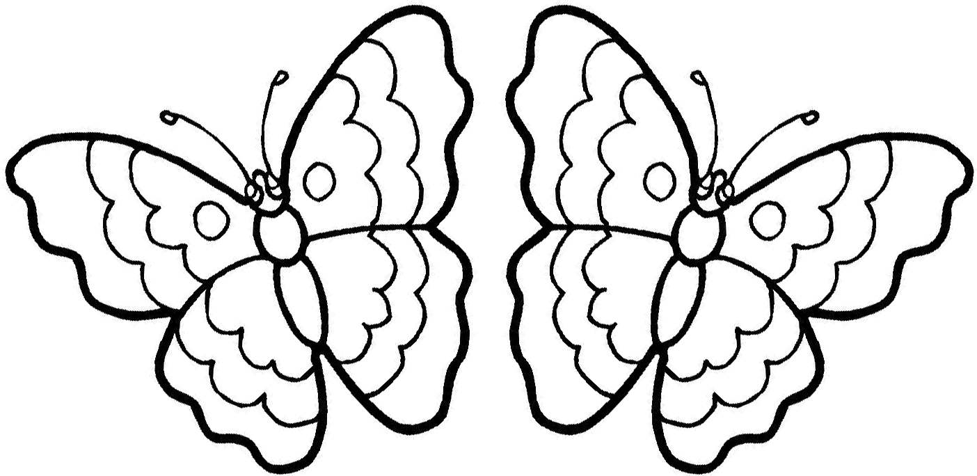 Butterfly On A Flower Coloring Pages : Butterfly On A Flower Coloring Page AZ Coloring Pages
