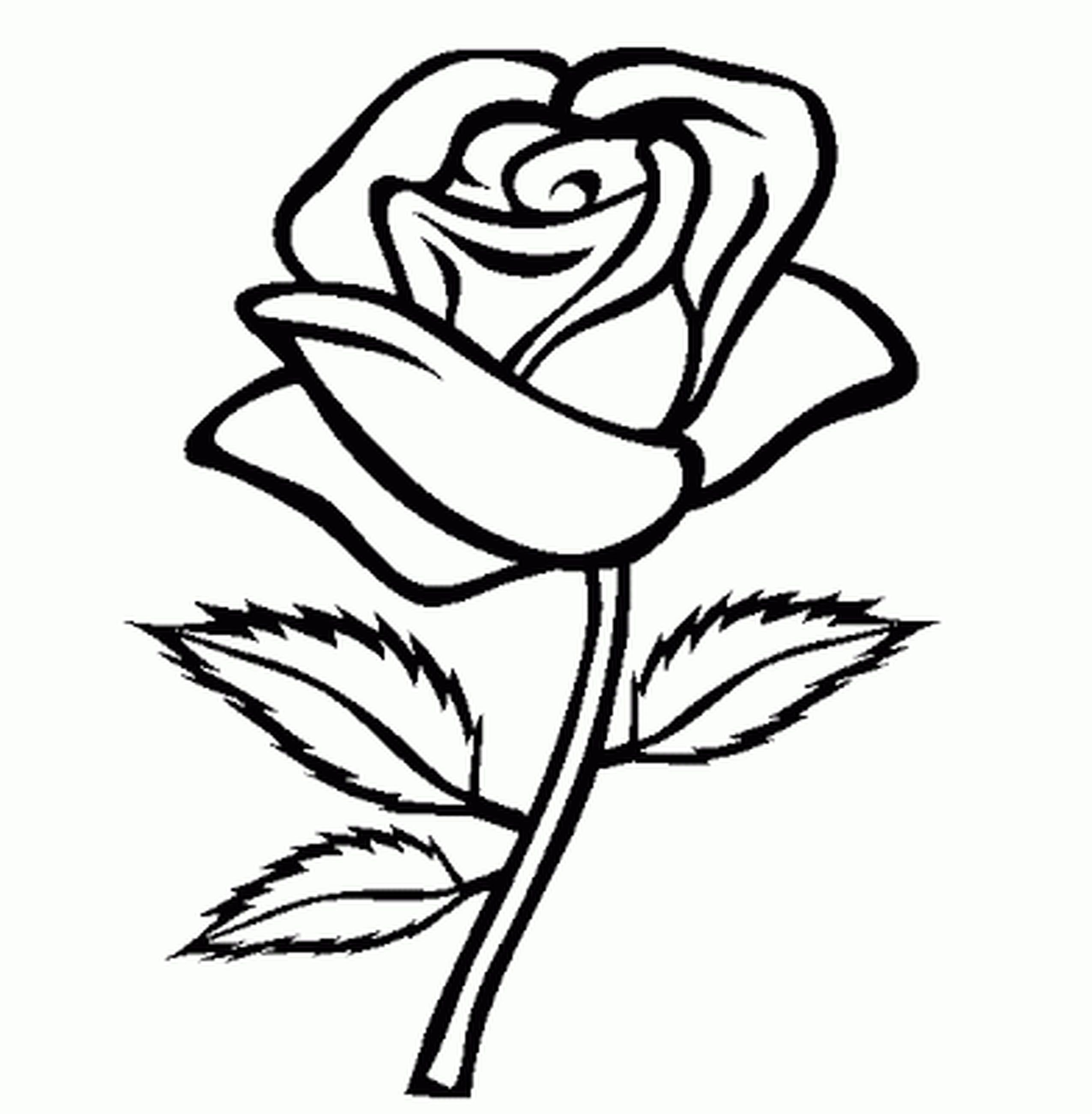 Flower Coloring Pages For Girls Easy - Printable Kids ...