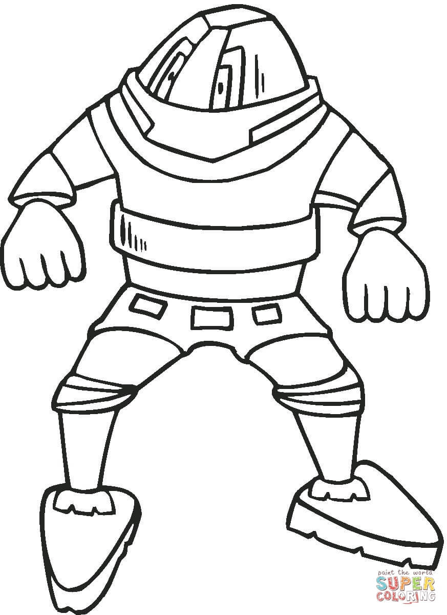 Coloring Pages Of Robots To Print - Coloring Home