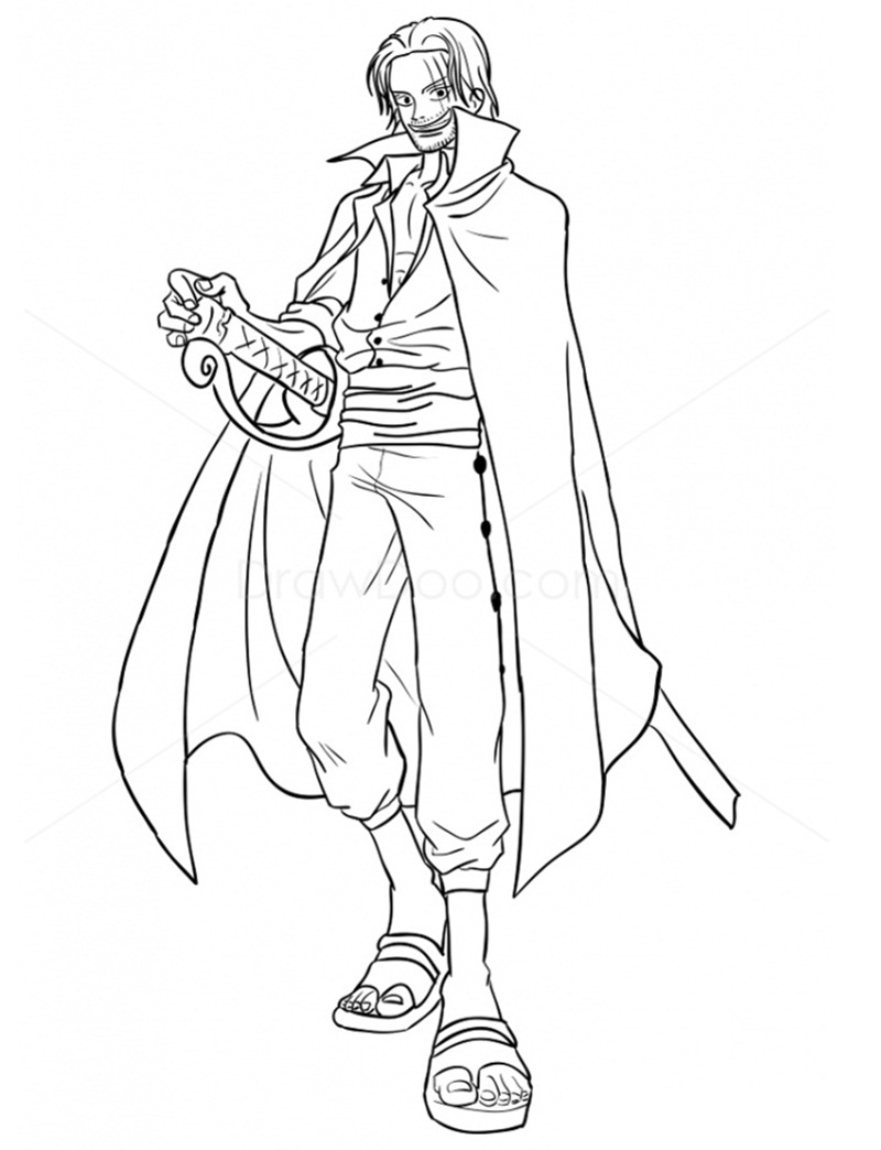 One Piece Coloring Pages Animecoloringpages Com Coloring Home