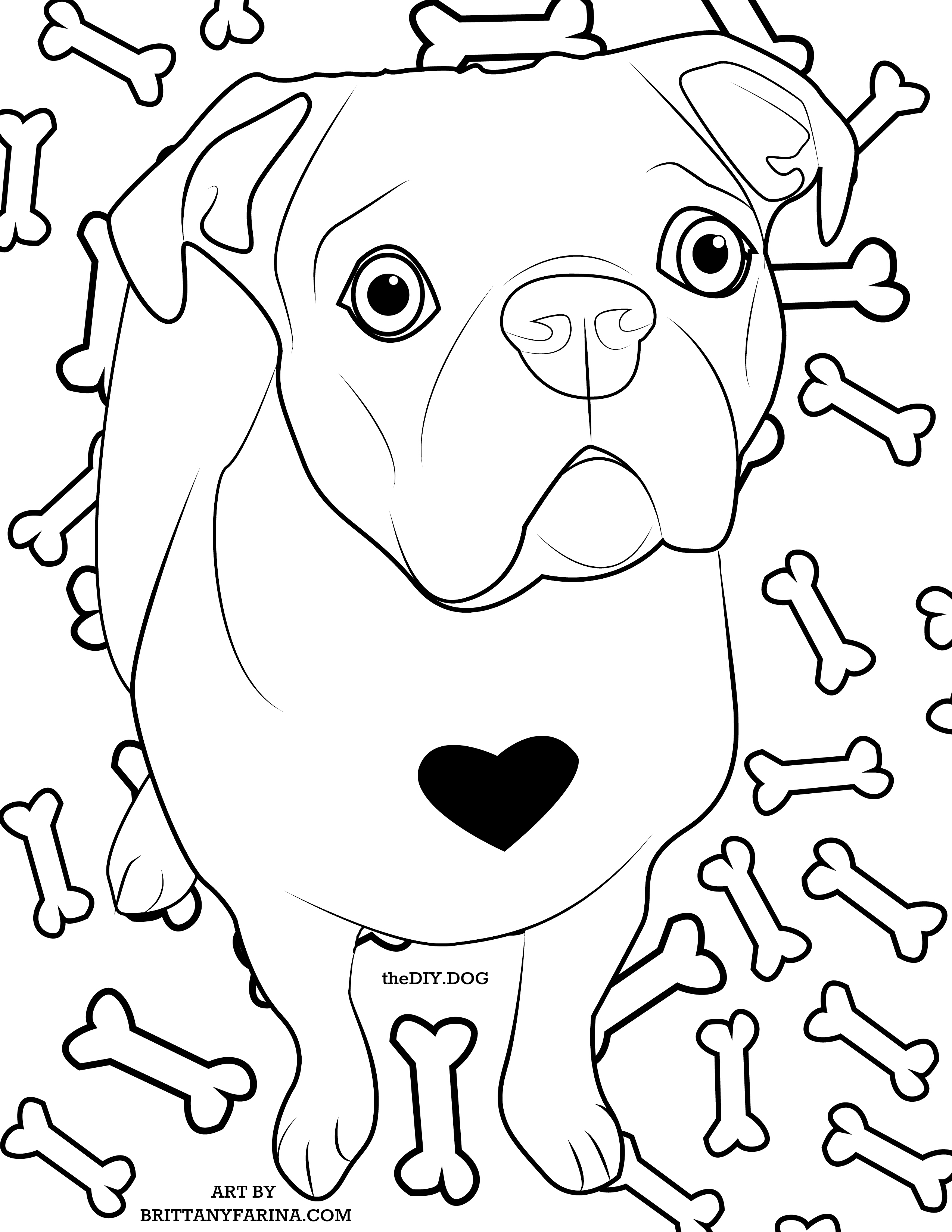 How To Turn Your Dog Into a Coloring Page - Kol's Notes
