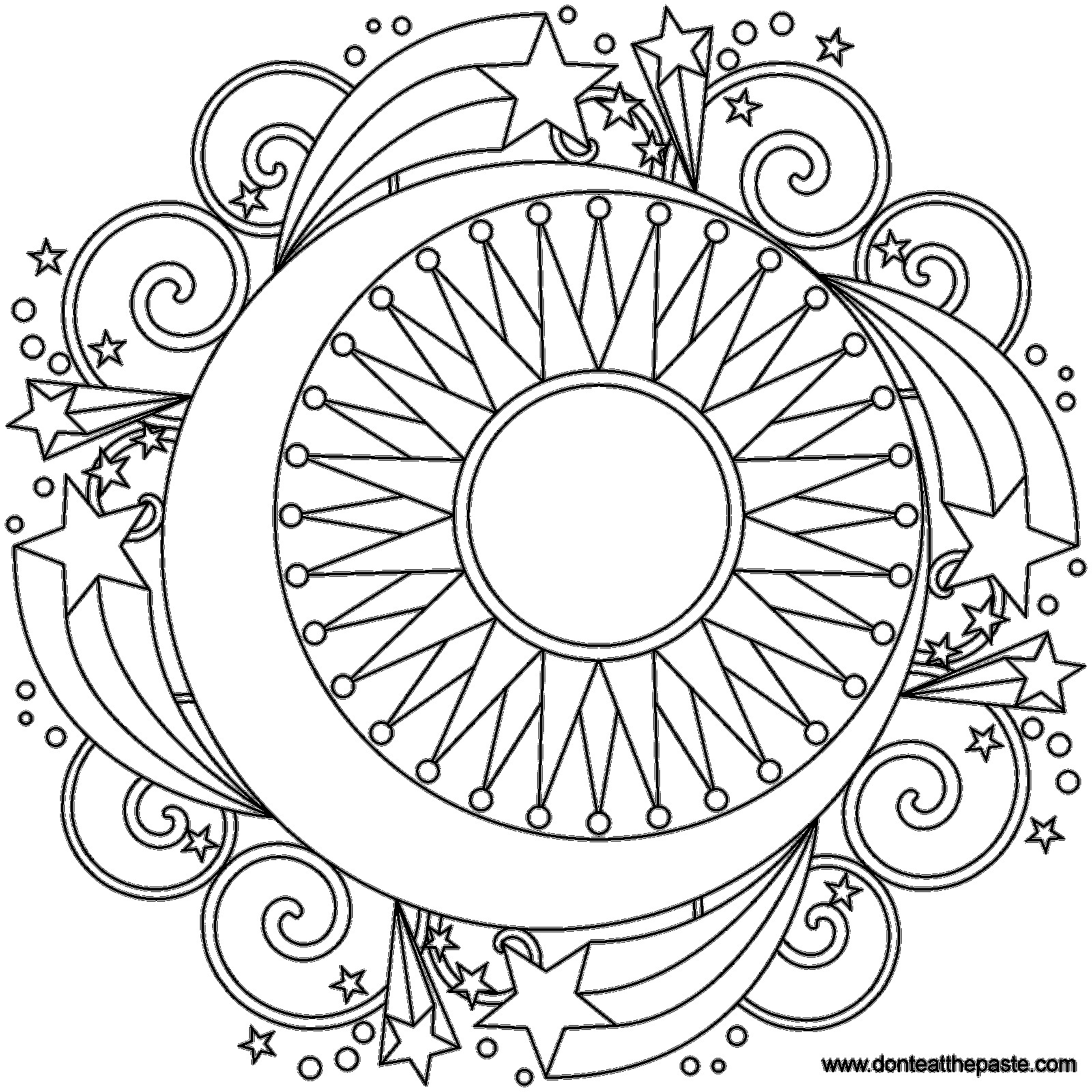 Coloring Book Sun Andn Coloring Pages Celestial Page Star Tremendous Book Free 83 Tremendous Sun