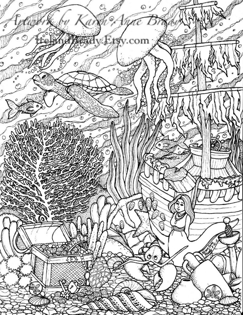 Coloring Pages By Numbers For Adults