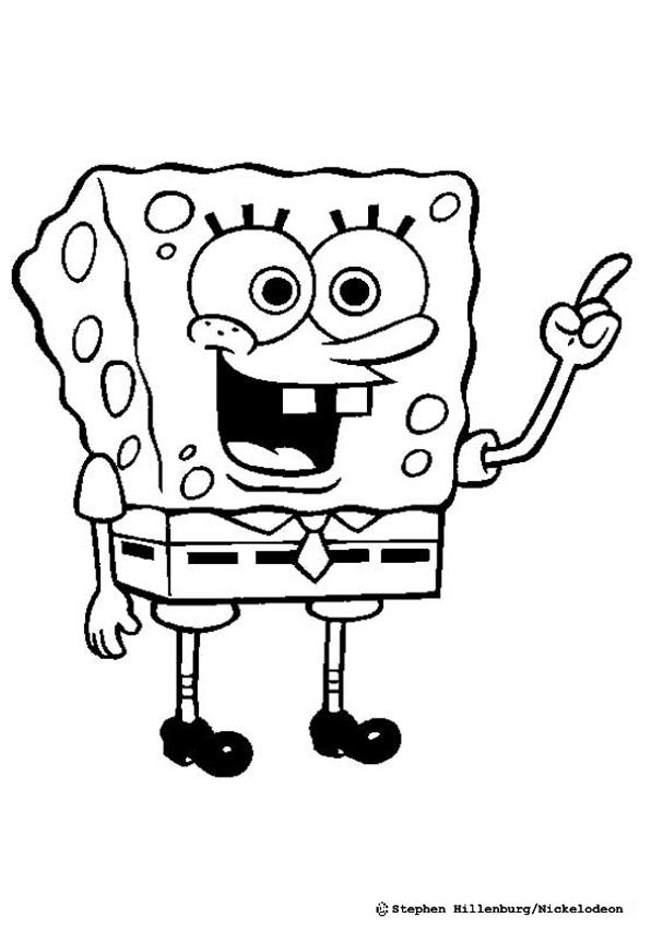SPONGEBOB coloring pages - Sponge Bob