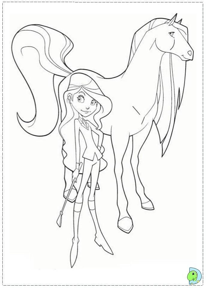 Horseland Coloring Page Coloring Pages Coloring Home