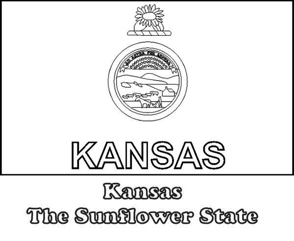 k state coloring pages - photo #29