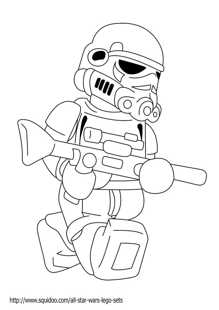 Star Wars Storm Trooper Coloring