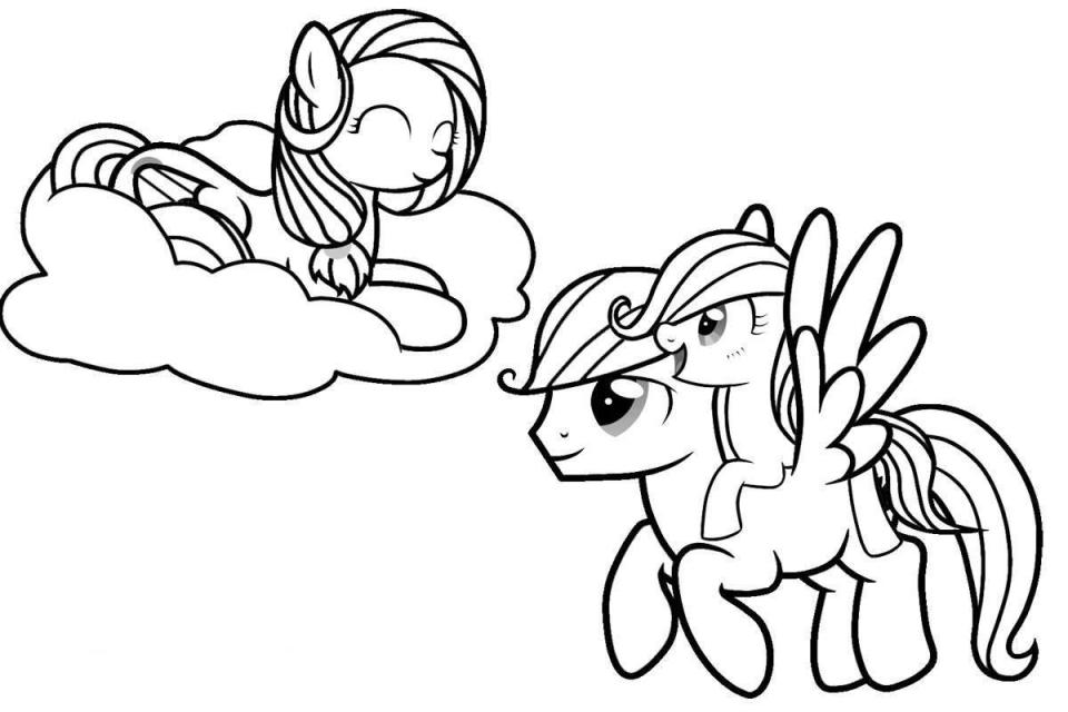 Little Pony Nightmare Moon Coloring Pages - Colorine.net | #2663