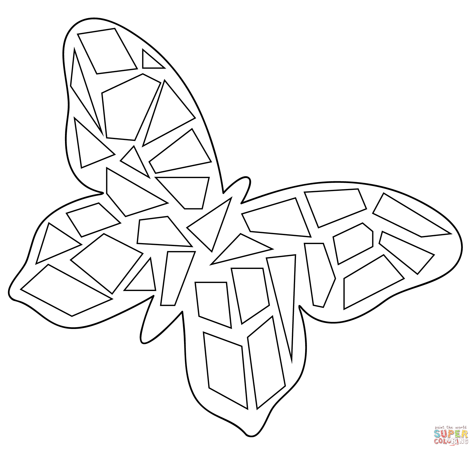 Mosaic Coloring Pages Kids Home