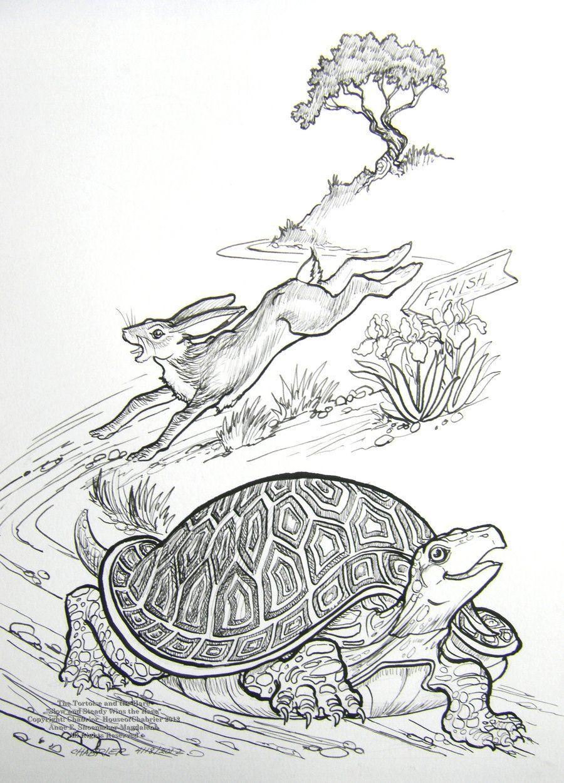 picture book hare colored - photo #18