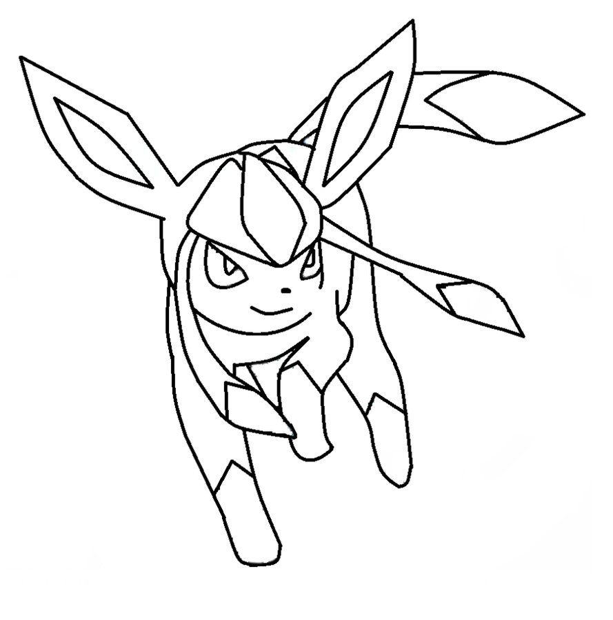 Glaceon Coloring Pages Az Coloring Pages And Coloring Pages