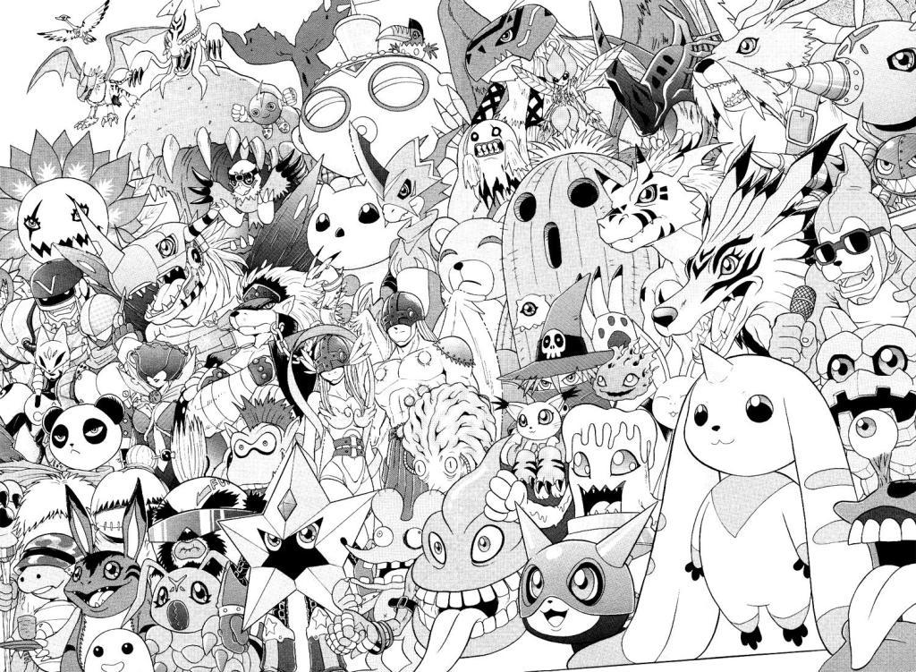 Digimon Coloring Pages Free € New Coloring Pages Collections : New ...