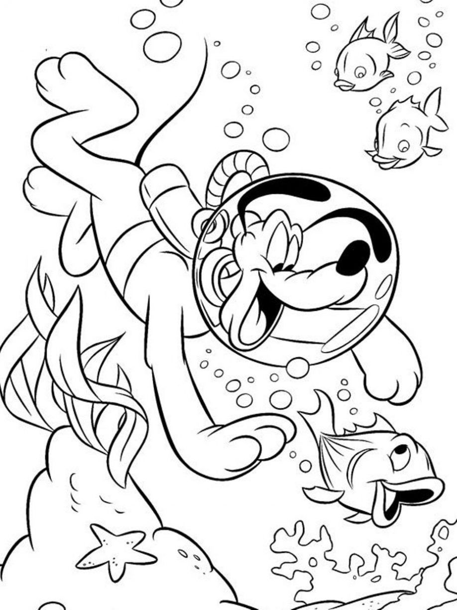 swimming coloring pages to print coloring home