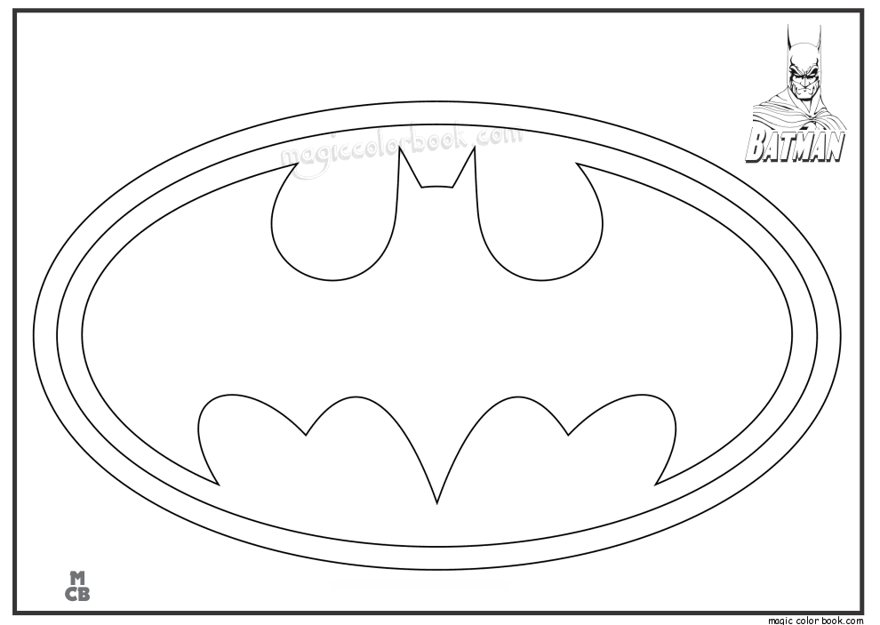 Free Batman Coloring Pages To Print Coloring Home