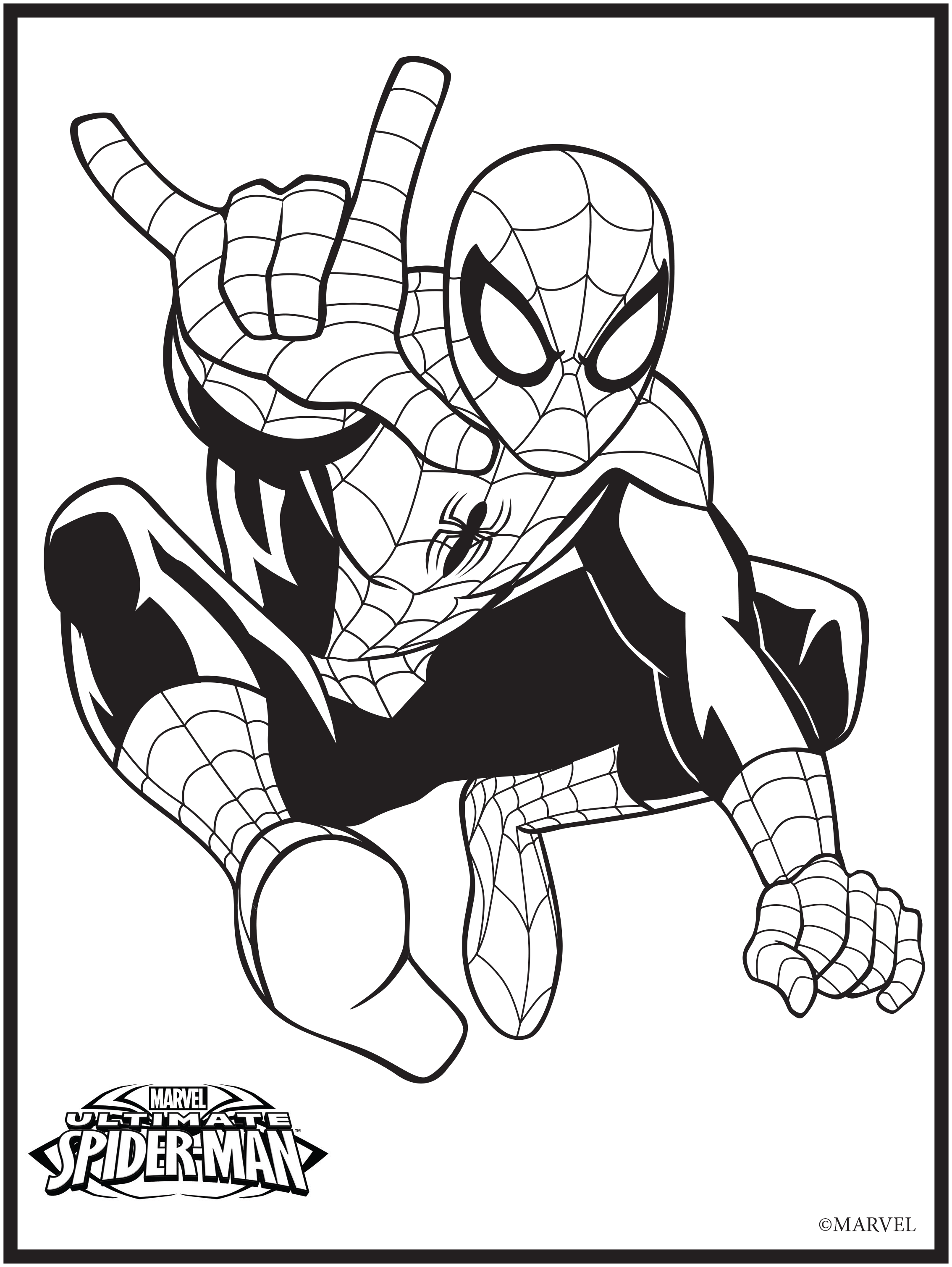 Marvel Colouring Pages : Marvel Coloring Pages Free Coloring Home