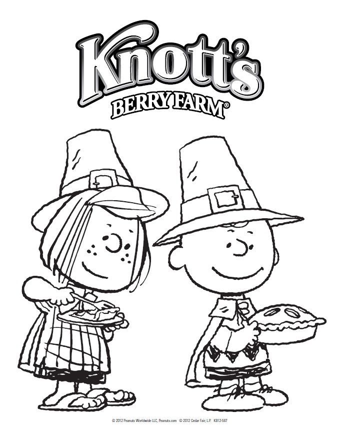 peanuts coloring pages thanksgiving - photo#18