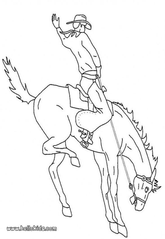 Broncos, Coloring pages and Coloring