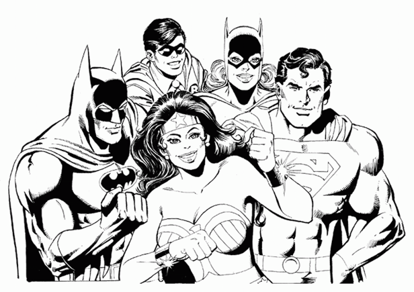 Batman Coloring Page Pages Printables