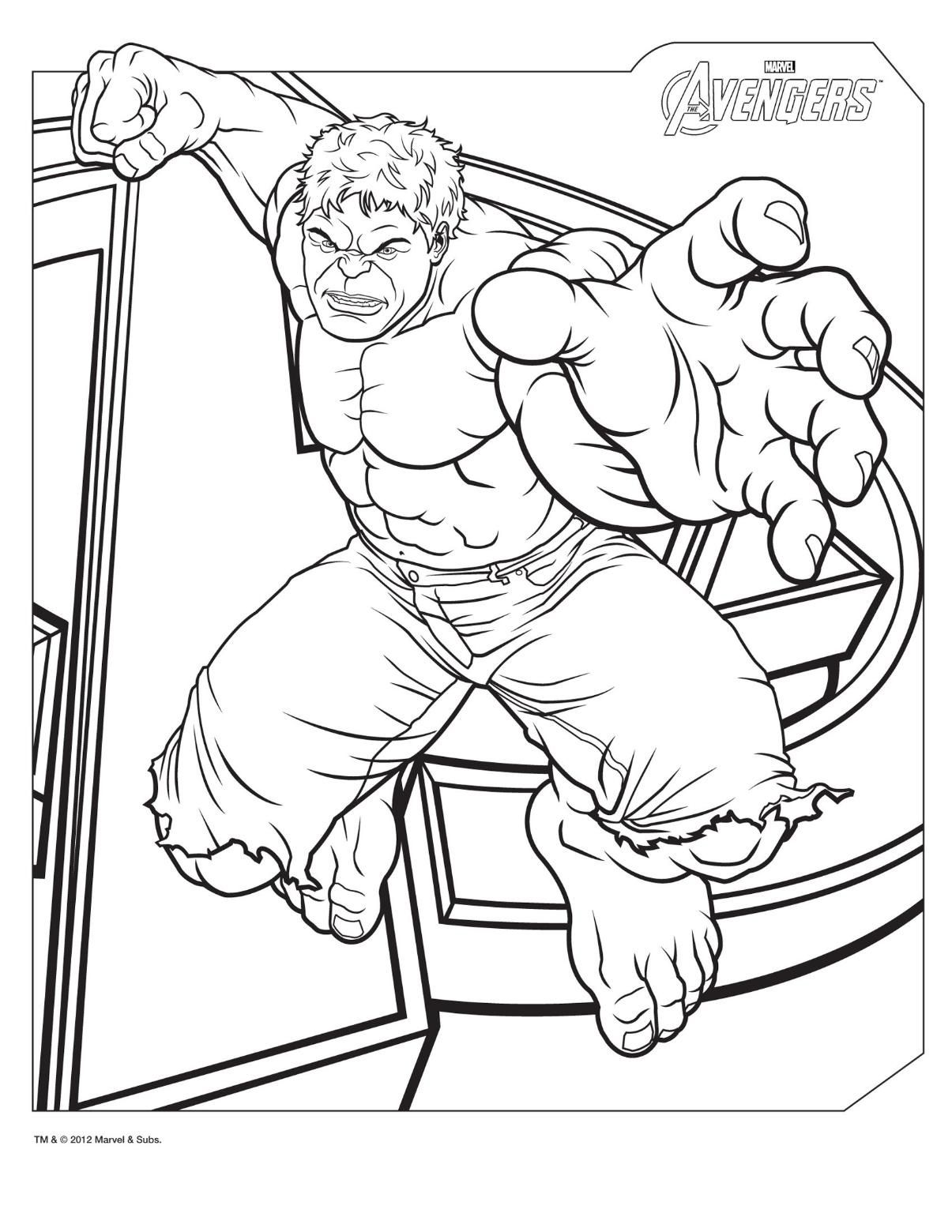 Marvel Avengers Age Of Ultron Coloring Pages Avengers Movie ...