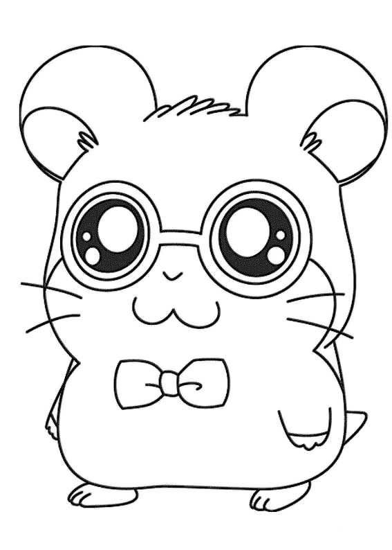 Study Hamster Coloring Page Az Coloring Pages Definition Coloring