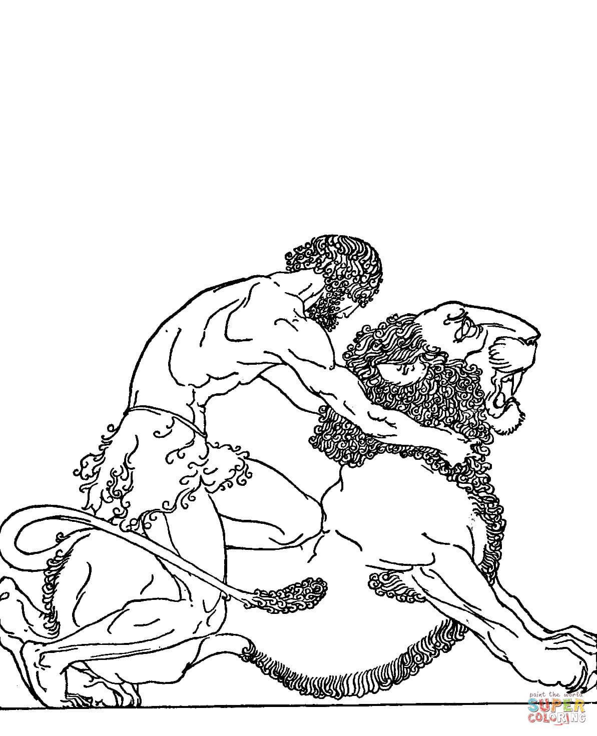 Greek Mythology Coloring Pages | Free Coloring Pages - Coloring Home