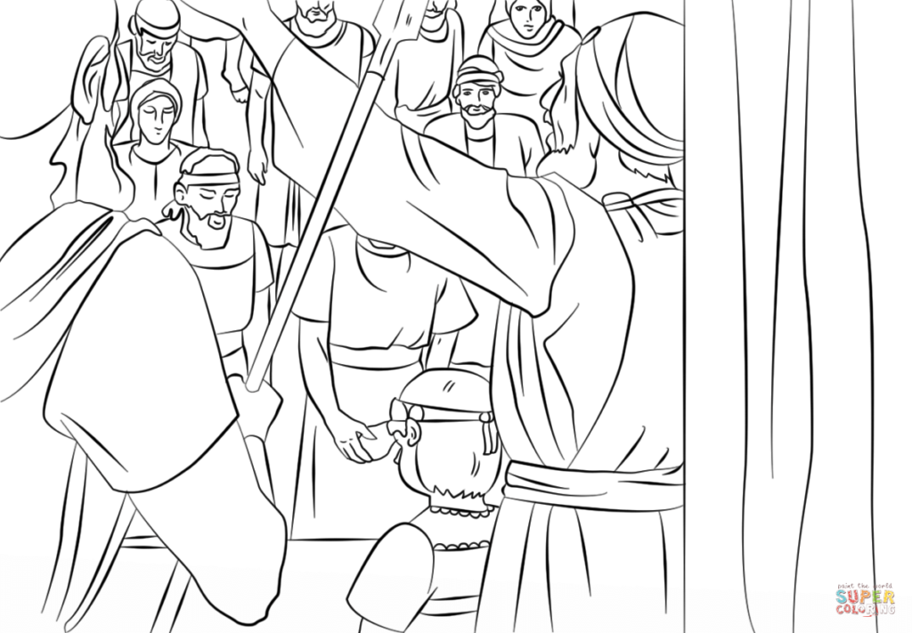 King Josiah Coloring Page Free