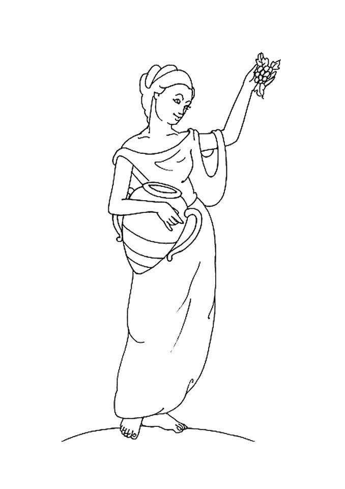 persephone coloring pages - photo #11