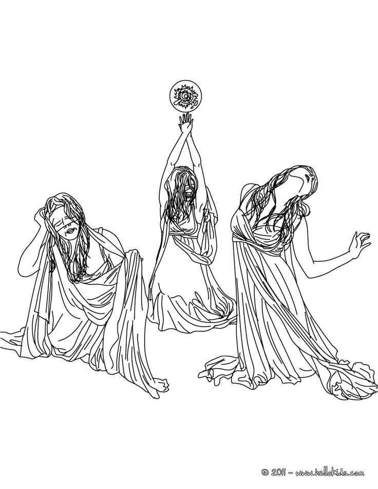persephone coloring pages - photo #18