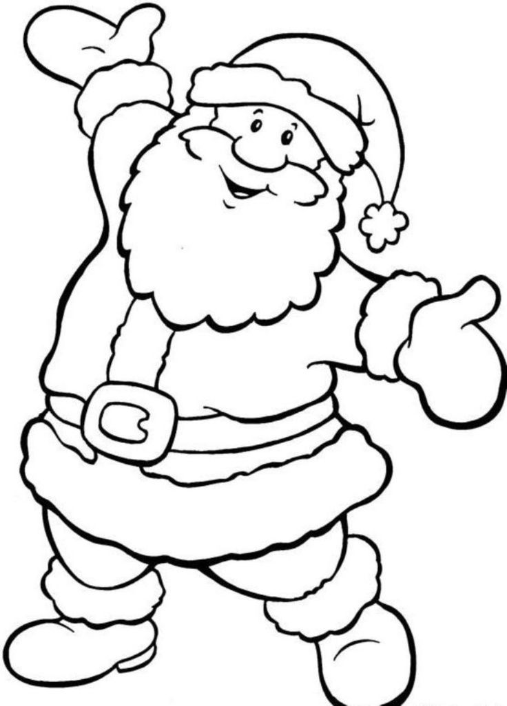 free printable coloring christmas pages - photo#35