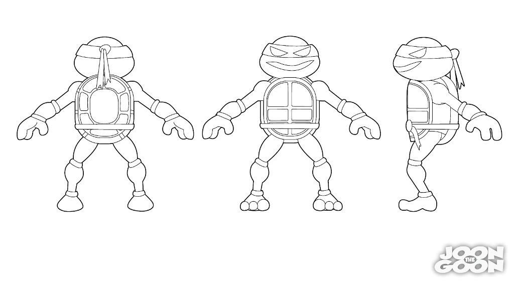 Ninja Turtles Coloring Pages Leonardo Coloring Home