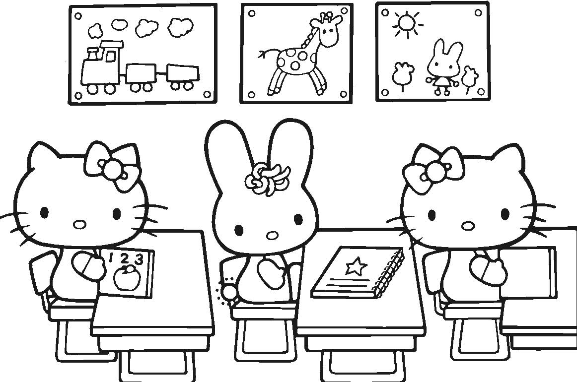 coloring pages breathtaking coloring pages for girls hello kitty ...