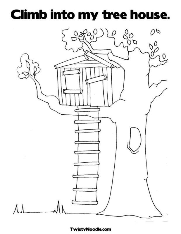 Free tree house coloring pages az coloring pages for Free magic tree house coloring pages
