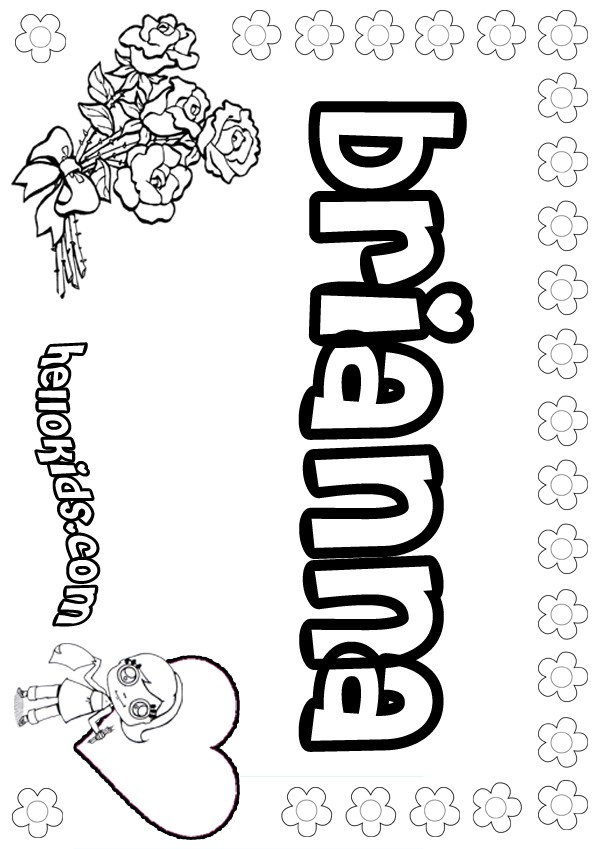 Coloring Pages Of Your Name Az Coloring Pages Coloring Pages With Names