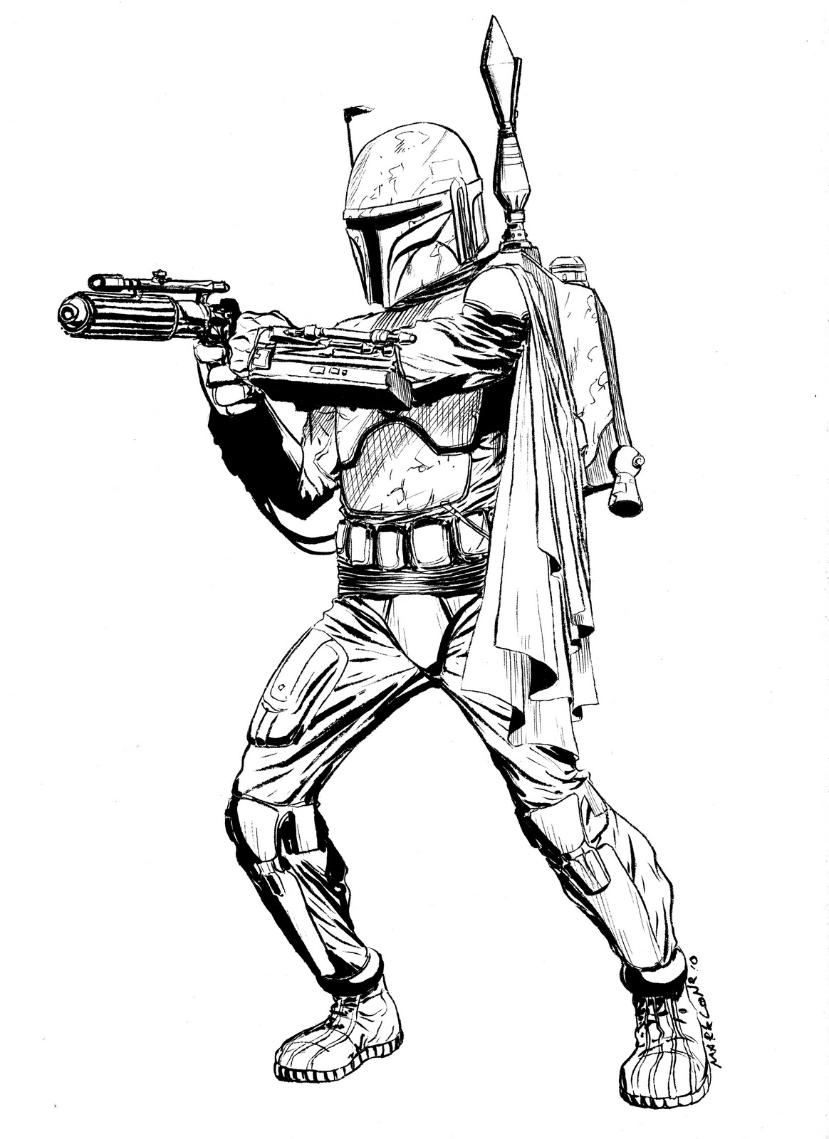 Star Wars Coloring Pages Boba Fett Az Coloring Pages Wars Coloring Pages Boba Fett