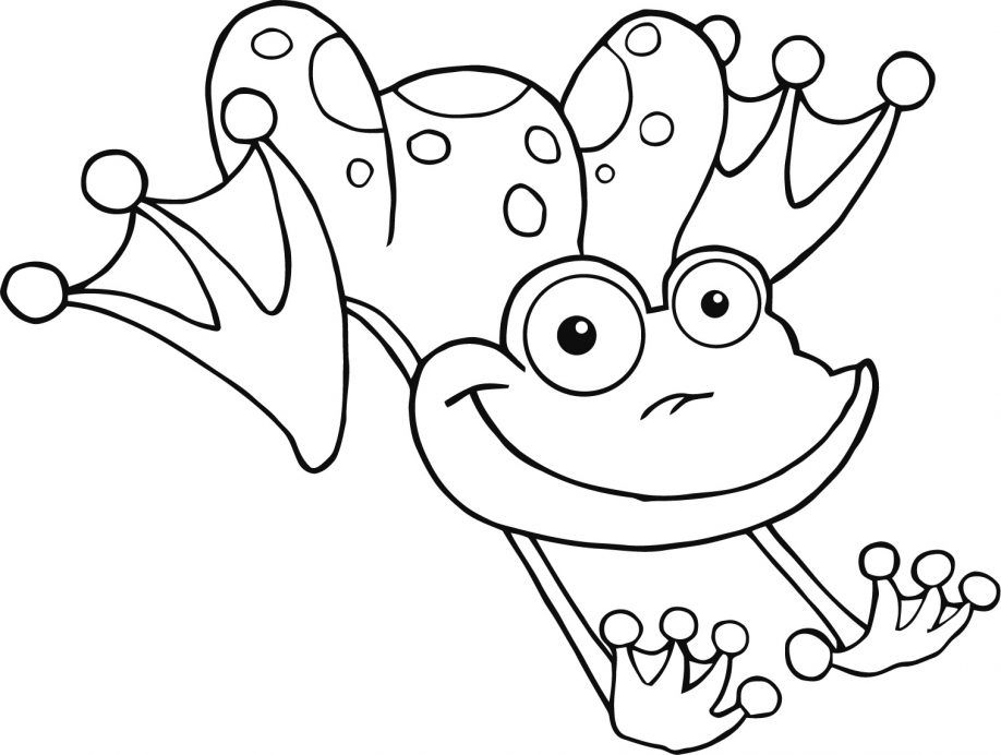 poisonous frog coloring pages - photo#13