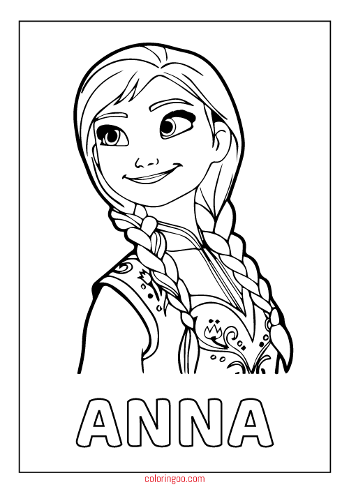 - Frozen 2 Coloring Pages - Coloring Home